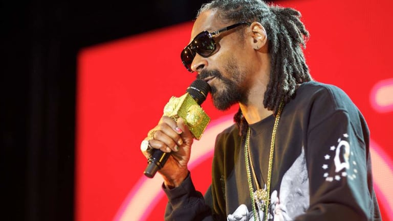 Snoop Dogg will be the headline act at an event hosted by Ripple at a  secret location in New York.