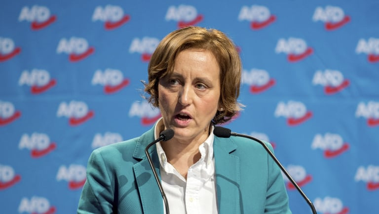 Beatrix von Storch of the nationalist and anti-Islam Alternative for Germany party