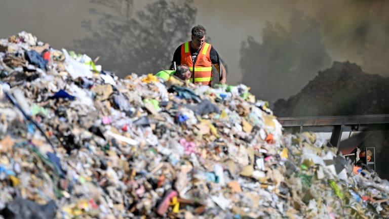 The waste problem won't go away.