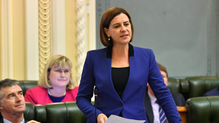 LNP leader Deb Frecklington has not yet outlined whether opposition MPs will get a conscience vote on abortion legislation.