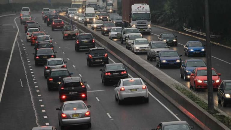 Under 30-year modelling by Infrastructure Australia, the average number of hours spent on Sydney's congested roads during the morning peak will more than double.