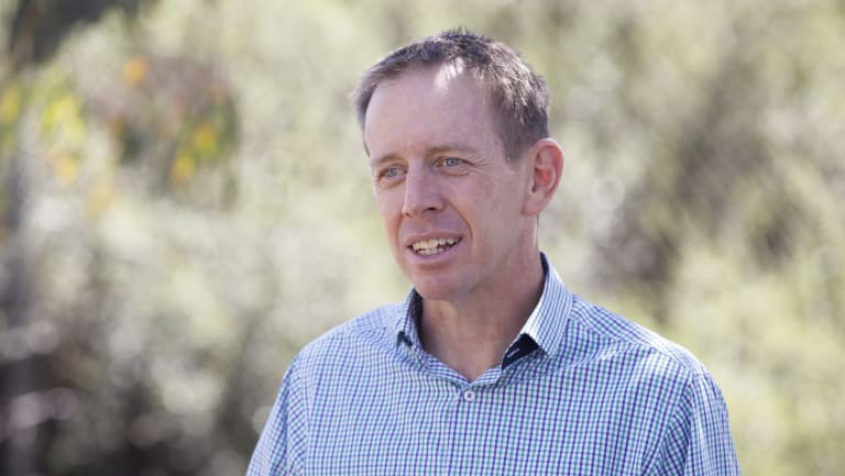 Climate change minister Shane Rattenbury: the ACT will bring its zero net emissions deadline forward after recommendations from the Climate Council.