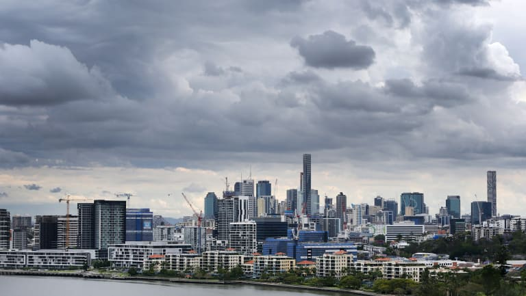 Brisbane could be set for a wet weekend, along with much of the state.