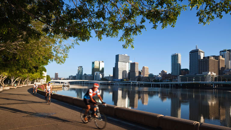 Brisbane City Council's Active Transport Strategy encourages more trips to be made by bike and walking