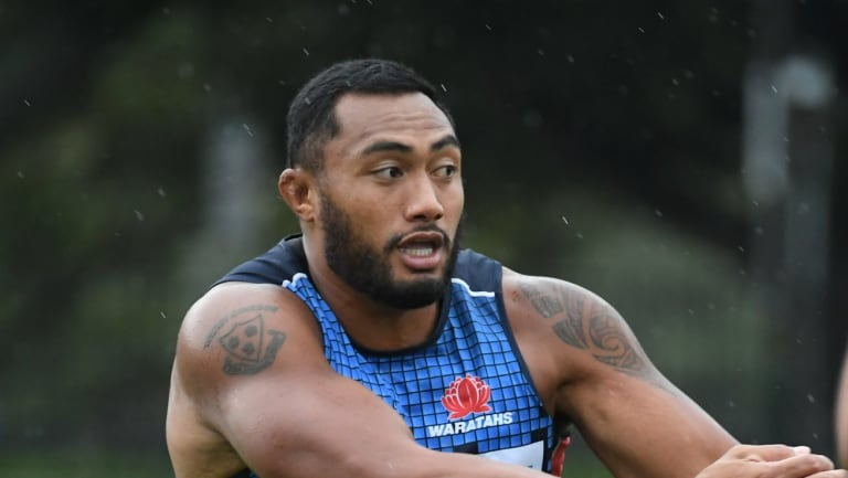 Long distance: Sekope Kepu is helping his teammates from 12,000km away