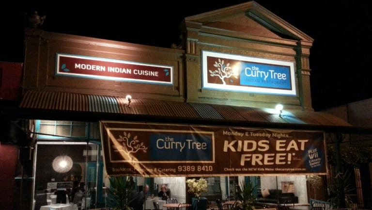 The Curry Tree restaurant in Nedlands which has since burnt down.
