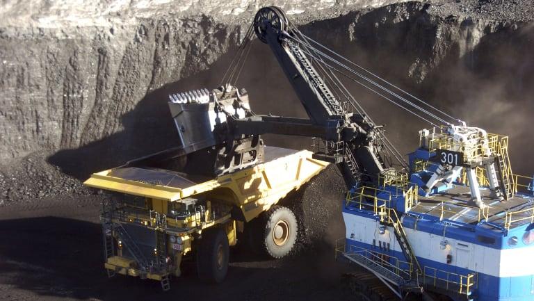 Global demand for coal is falling.