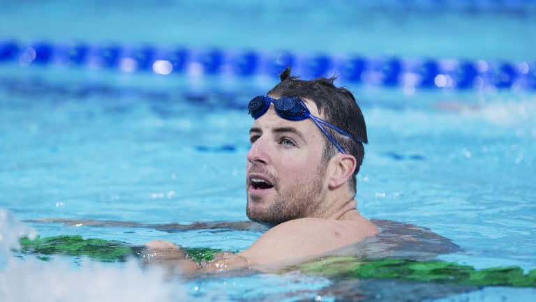 Set for retirement? James Magnussen.