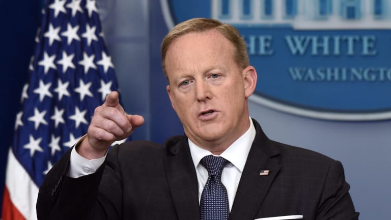 Sean Spicer, the now former White House press secretary, has been interviewed as part of the investigation.