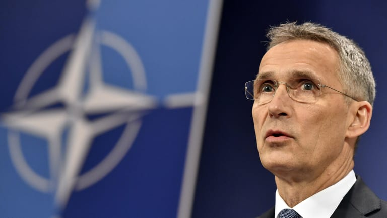 """""""There was no other alternative than to react the way they reacted this night"""":  NATO Secretary General Jens Stoltenberg"""