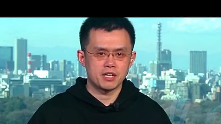 Binance CEO Zhao Changpeng.