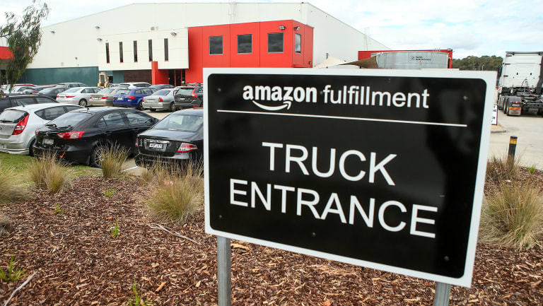 A building next to Amazon's Dandenong warehouse is for sale.