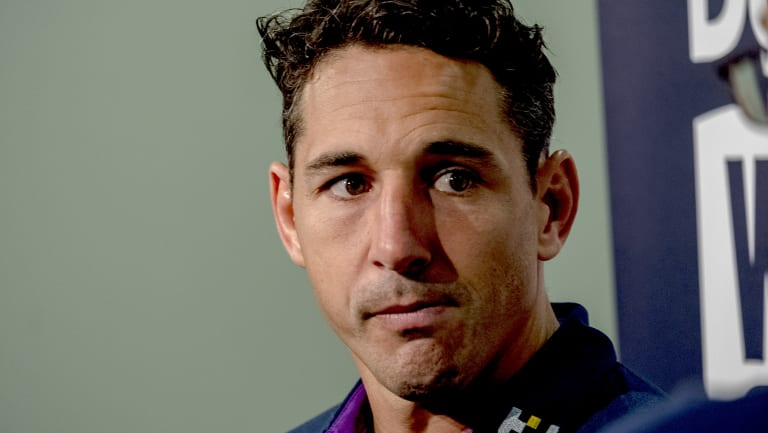 Milestone: Billy Slater is on the cusp of joining an elite club.