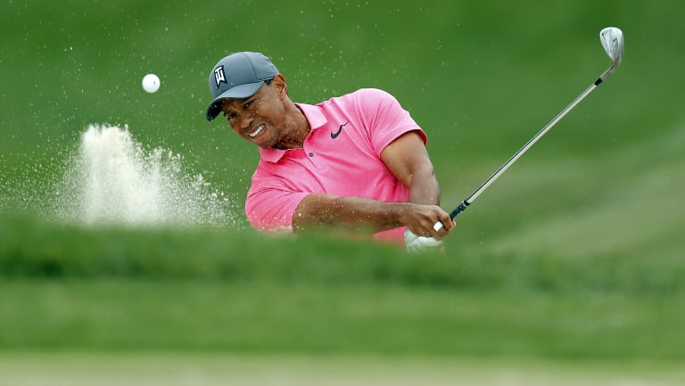 Melbourne-bound: Tiger Woods wants to play in the Presidents Cup.