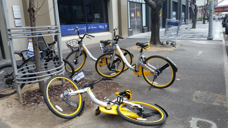 So long oBikes ...
