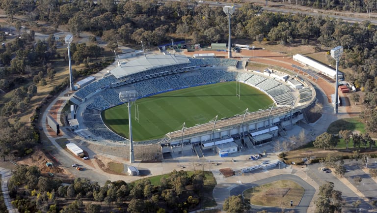 The future of Canberra Stadium will hinge on the National Sport Plan.