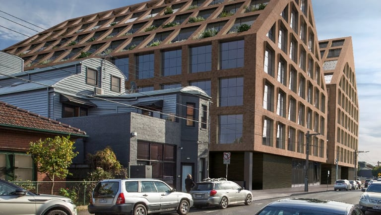An artist's impression of Seek's proposed new Melbourne headquarters