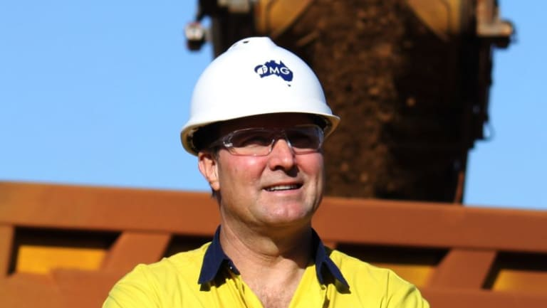Outgoing Fortescue chief Nev Power.