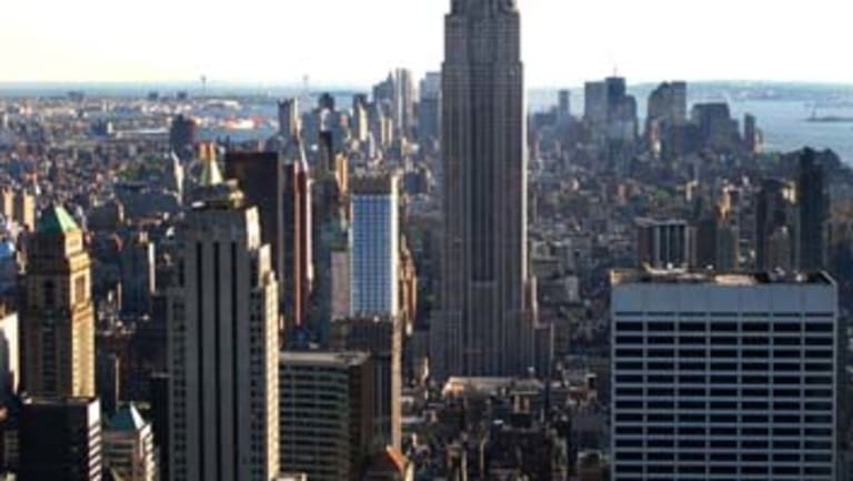 New York City offers more compact and high-density living.