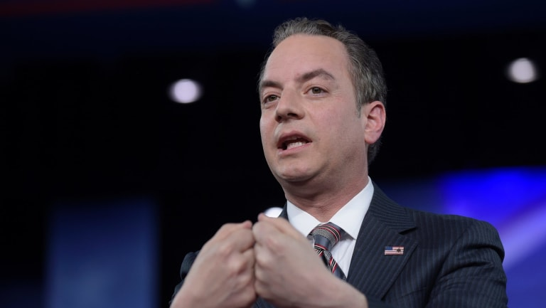 Former White House chief of staff Reince Priebus.