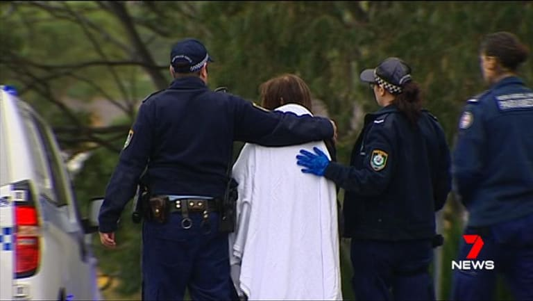 The boy's grandmother was treated for shock by paramedics.