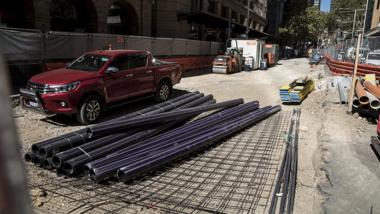Repeated delays to construction of the light rail line on George Street in Sydney's CBD have infuriated businesses.