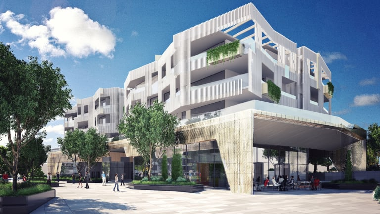Brisbane City Council approved Aveo's proposed development at Newmarket in December 2017