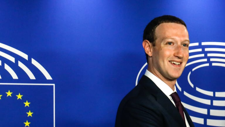 Facebook chief executive Mark Zuckerberg's company would be subject to the proposed European tax change.
