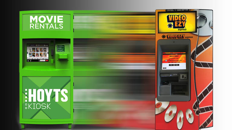 Hoyts Kiosks have announced they'll be merging with Video Ezy Express.