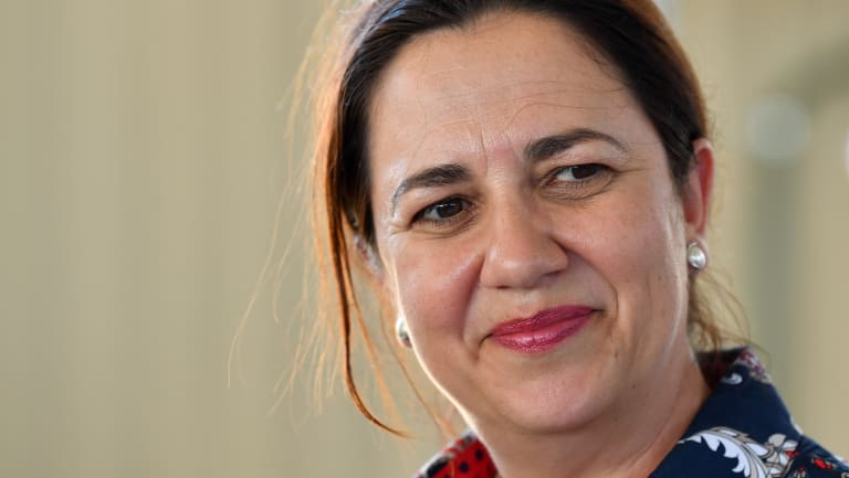 Premier Annastacia Palaszczuk said laws to ban political donations by property developers would be reintroduced within the next six months.