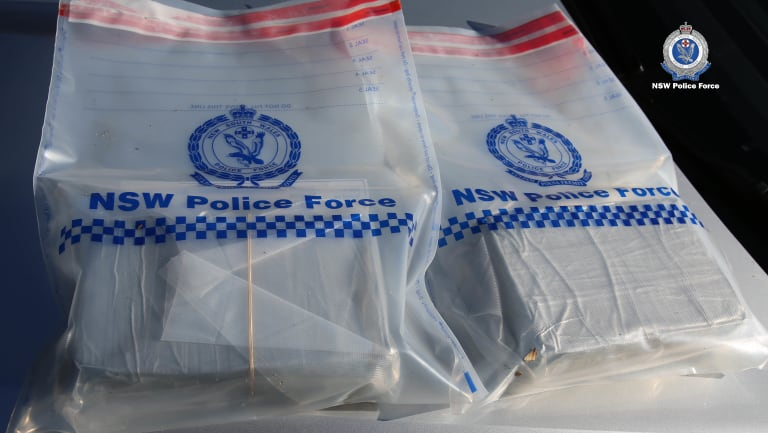 More than $500,000 worth of cocaine was seized by police.