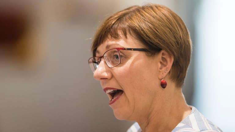 Youth Minister Rachel Stephen-Smith, who announced legislation for the new senior practitioner position on Thursday.