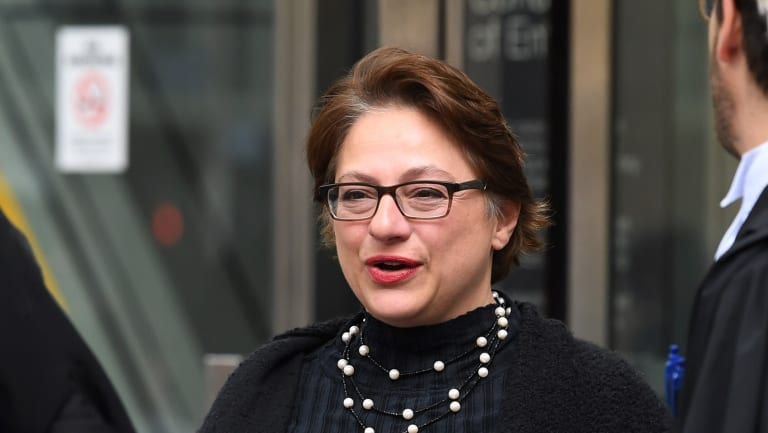 Sophie Mirabella outside court.