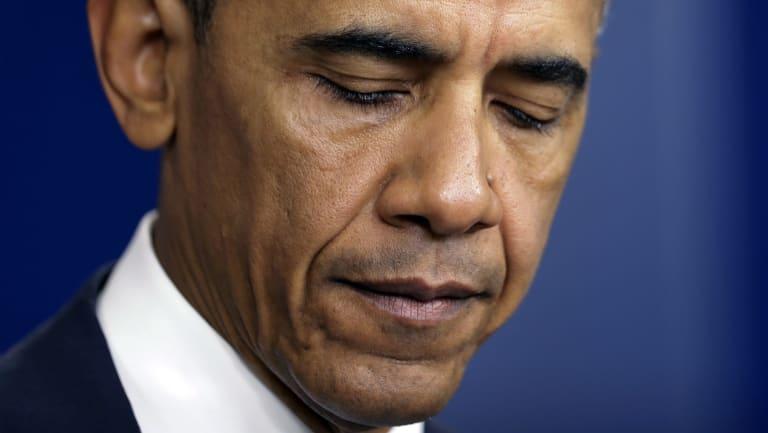 Unwilling to act: former US president Barack Obama.