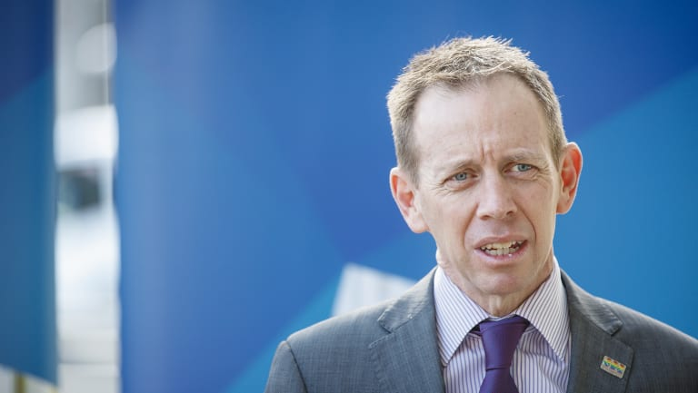 Sustainability Minister Shane Rattenbury, who said he was considering the commission's report.