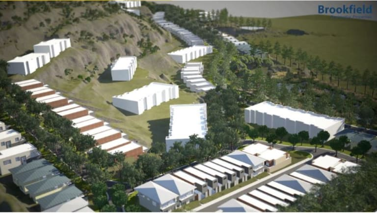 The master planned site at Keperra quarry could have up to 700 dwellings