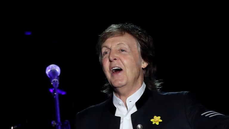 Paul McCartney recalled when George Harrison gave him a ukelele, before playing the song that is now the second most covered Beatles song of all time.