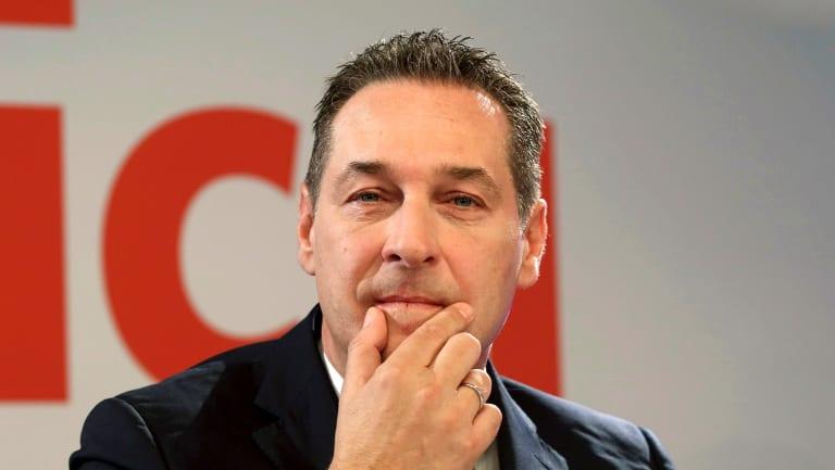 """Just the beginning"":  Austria's Vice-Chancellor Heinz-Christian Strache."