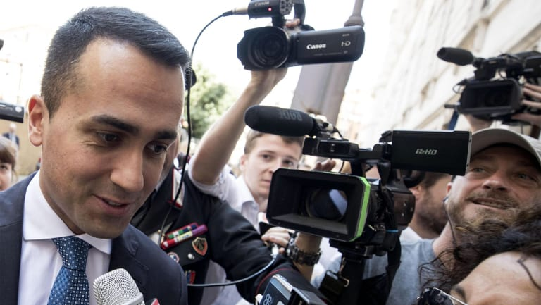 5-Star Movement leader Luigi Di Maio