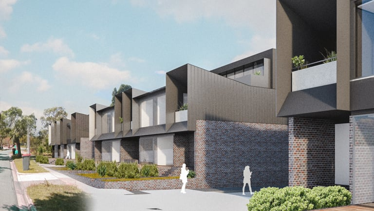 An artist's impression of the Markham Estate in Ashburton.