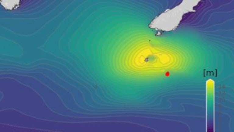 The biggest wave ever recorded in the southern hemisphere was measured this week off New Zealand.