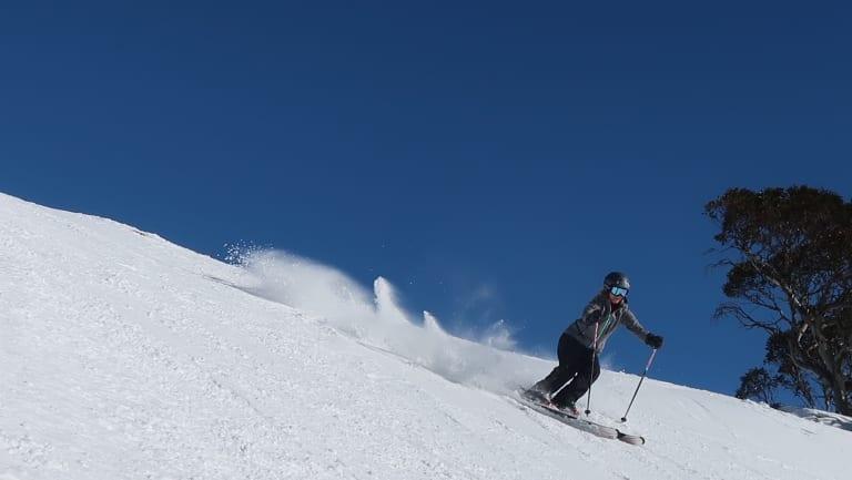 Skiers at Perisher