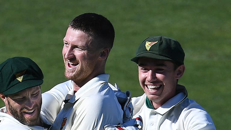 Tasmania edged South Australia on Thursday