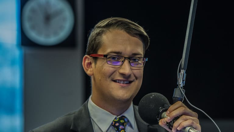 Ratings for ABC Radio Canberra's breakfast shift, anchored by Dan Bourchier, have fallen.