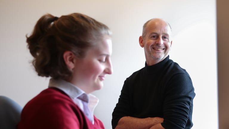 Fiona is happier at her new school, while her father is pleasantly surprised at the money saved on fees.