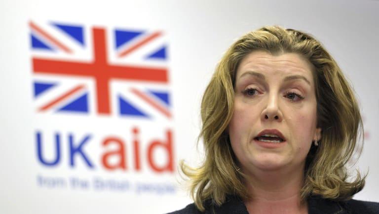 Britain's International Development Secretary Penny Mordaunt.