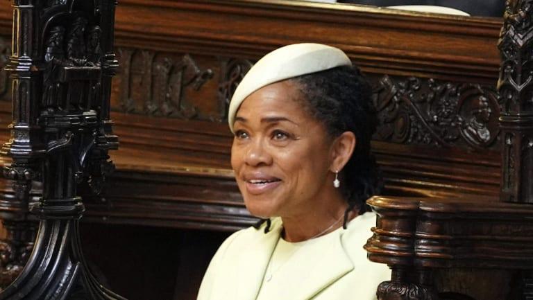 Doria Ragland during the ceremony.