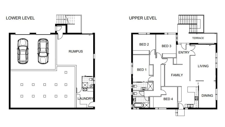 BEFORE: As an example, the pair experimented with a property,38 Lambrigg Street in Farrer, currently on the market.