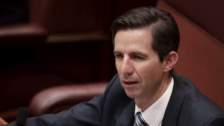 "Memo to Simon Birmingham: adult female humans are usually called ""women""."