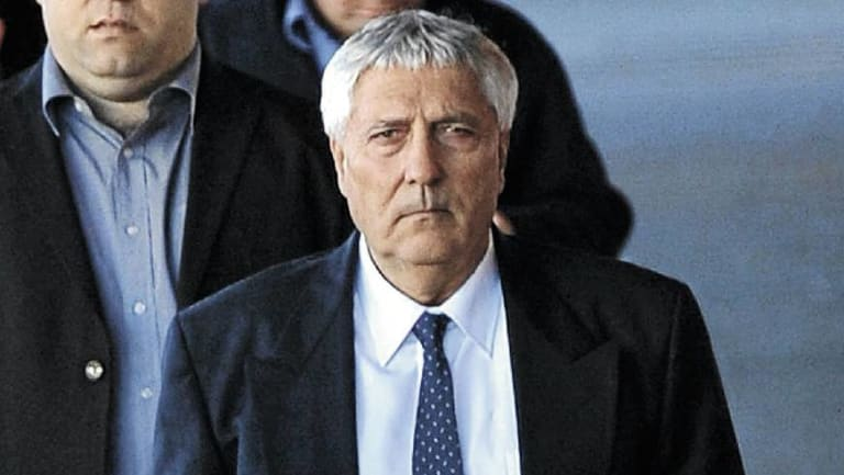 Gino Scutti was handed a two-year suspended sentence.